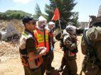 צוותי מדא מרחב ירדן מתחנת צפת בתרגיל נקודת מפנה 7 - צילום דוברות מדא 28.5.13 (11)